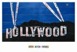 Hollywood Sign at Night - Aaron Foster