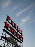 Seattle's Pike Place Market, a Place to Buy Fresh Meat, Fish, Seattle - Aaron McCoy