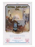 Advertisement for Royal Daylight Oil for Lighting Cooking and Heating