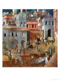 The Blessings of Good Government - Ambrogio Lorenzetti