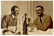 art numerique hitler vs alan turin hitler vs alan turin : Hitler VS Alan Turing