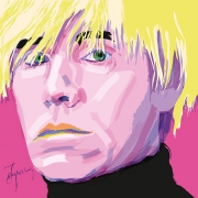 art numerique personnages warhol pop art andy : Andy Warhol