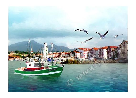 bateau pays basque