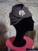 art textile mode autres chapeau : Chantal