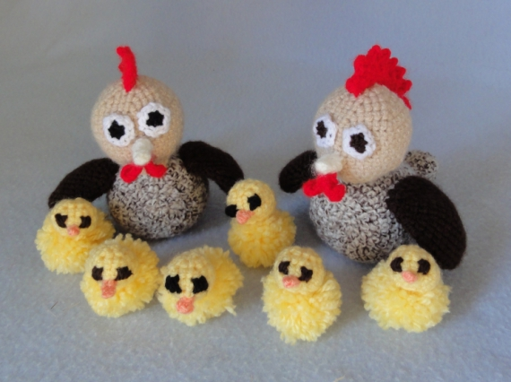 artisanat d 39 art amigurumi poule poussin crochet capcrochet poules et poussins. Black Bedroom Furniture Sets. Home Design Ideas