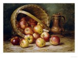 A Basket of Apples - August Laux