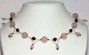 bijoux : Variations en Quartz rose