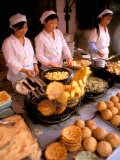 Street Vendors Cooking, Kunming, China - Bill Bachmann