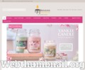 bougies parfumées Yankee Candle formats : Jarres, Gobelets ...