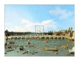 Westminster bridge, Londres - Canaletto