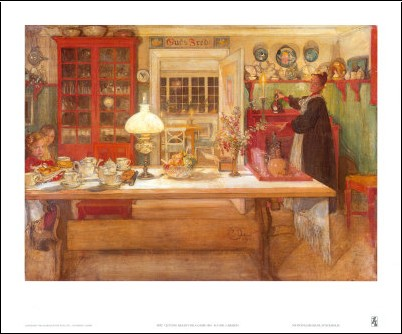 prparation pour un jeu 1901 carl larsson posters. Black Bedroom Furniture Sets. Home Design Ideas