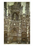 Cathedrale de Rouen-Harmonie Brune - Claude Monet
