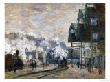 Gare St. Lazare, the Western Docks, 1877 - Claude Monet