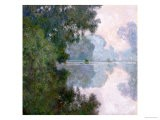 Morning on the Seine, Near Giverny, 1896 - Claude Monet