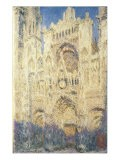 Rouen Cathedral in the Afternoon - Claude Monet