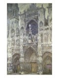 Rouen Cathedral (The Portal, Gray Weather) - Claude Monet