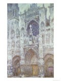 Rouen Cathedral, the West Portal, Dull Weather, 1894 - Claude Monet