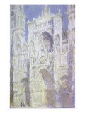 Sunlight, Rouen Cathedral: West Facade - Claude Monet