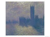 The Houses of Parliament, Stormy Sky, 1904 - Claude Monet