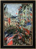 The Rue Saint-Denis, Celebration of June 30, 1878 - Claude Monet