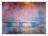 The Thames at Charing Cross, 1903 - Claude Monet