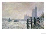 The Thames Below Westminster, 1871 - Claude Monet