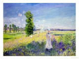 The Walk, circa 1872-75 - Claude Monet