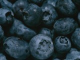 Close View of Fresh Blueberries