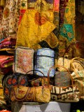 Fabrics for Sale, Vendor in Spice Market, Istanbul, Turkey - Darrell Gulin