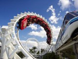 Rollercoaster, Sea World, Gold Coast, Queensland, Australia - David Wall