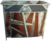 deco design autres meuble metal piece unique : Buffet TWILIGHT