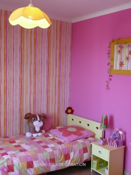 D coration interieur chambre fille for Decoration interieur chambre bebe