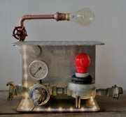 deco design industriel lampe : P#36