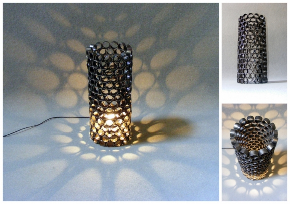 lampe design recycle