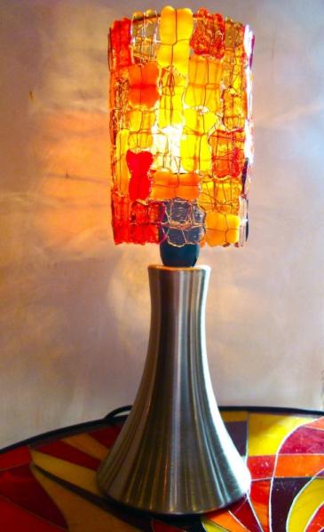d co design lampe lampe tactile mosaique decoration lampe tactile avec abat jour en verre. Black Bedroom Furniture Sets. Home Design Ideas