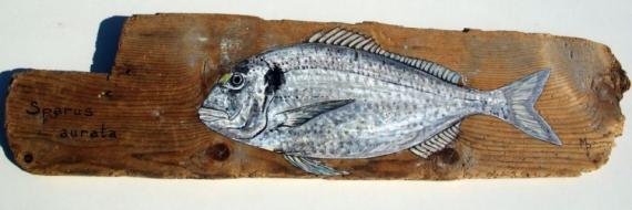 Emejing poisson bois flott images for Deco poisson bois