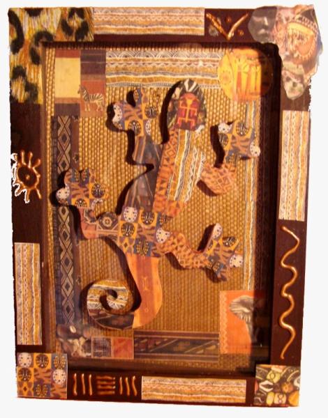 dco design salamande africain cadre africain. Black Bedroom Furniture Sets. Home Design Ideas