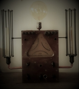 deco design steampunk industriel lampe : P# old bazard