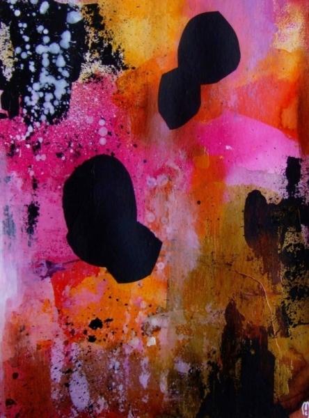 Dessin art abstrait c line marcoz art contemporain for Art contemporain abstrait