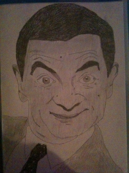 dessin dessin fusain bean 20 dessin mr bean. Black Bedroom Furniture Sets. Home Design Ideas
