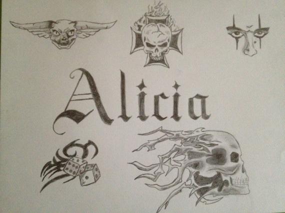 Dessin gothique calligraphie alicia calligraphie thmatique - Dessin gothique ...