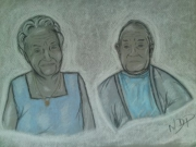dessin : MES GRANDS PARENTS