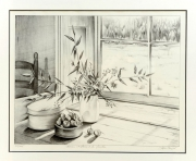 Dessin pot galerie creation - Dessin de nature morte ...