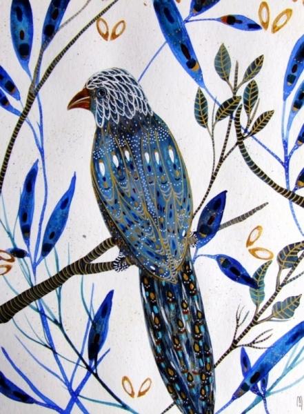 dessin oiseau peinture oiseau art oiseau aquarelle oiseau bleu oiseau bleu. Black Bedroom Furniture Sets. Home Design Ideas