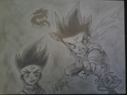 dessin personnages beyblade : Beyblade