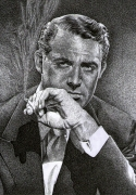 dessin personnages : cary grant