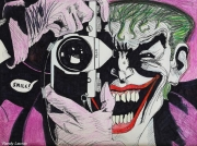 dessin personnages joker photo gotham batman : The joker