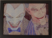 dessin personnages jokers comic personnages tetes : les jokers