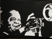 dessin personnages louis armstrong : Louis ARMSTRONG