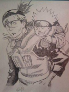 dessin personnages naruto : Naruto